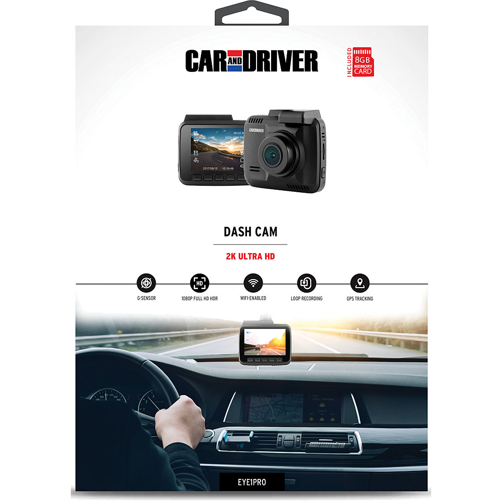 Car And Driver Eye1pro Car Dash Cam Fesco Distributors